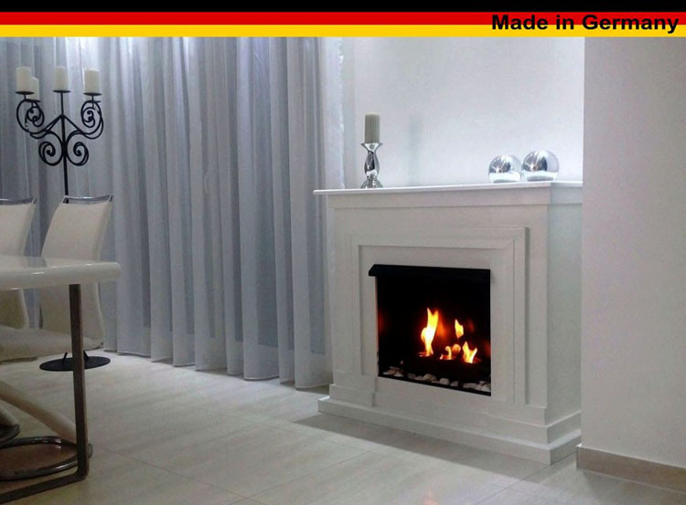 bio gelkamin ethanolkamin kamin camino fireplace modell berlin deluxe weiss ebay. Black Bedroom Furniture Sets. Home Design Ideas