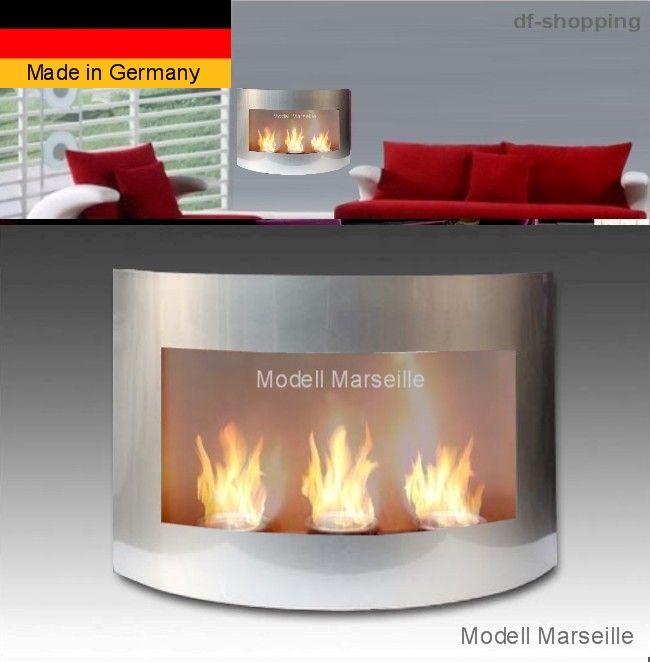gel and ethanol fireplace marseille silver bio ethanol fire place fireplace ebay. Black Bedroom Furniture Sets. Home Design Ideas