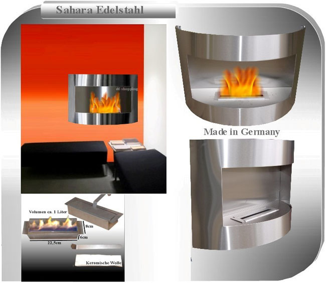 Gel And Ethanol Fire Place Fireplace Caminetto Chimenea