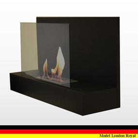 gel und ethanol kamin wand bodenkamin modell london royal. Black Bedroom Furniture Sets. Home Design Ideas