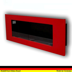 gelkamin ethanolkamin ethanol kamin cheminee gel modell paris deluxe royal rot. Black Bedroom Furniture Sets. Home Design Ideas