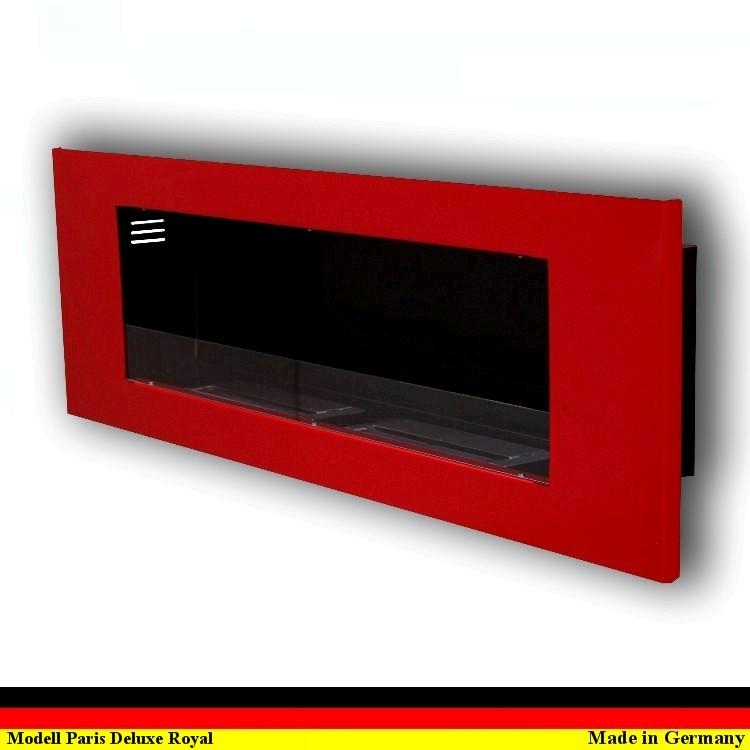 gelkamin ethanolkamin ethanol kamin cheminee gel modell paris deluxe royal rot ebay. Black Bedroom Furniture Sets. Home Design Ideas