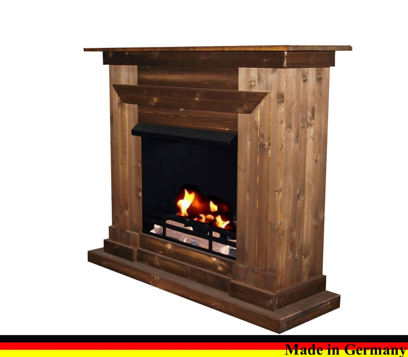 gelkamin ethanolkamin kamin caminetto fireplace modell berlin farbe nussbaum ebay. Black Bedroom Furniture Sets. Home Design Ideas
