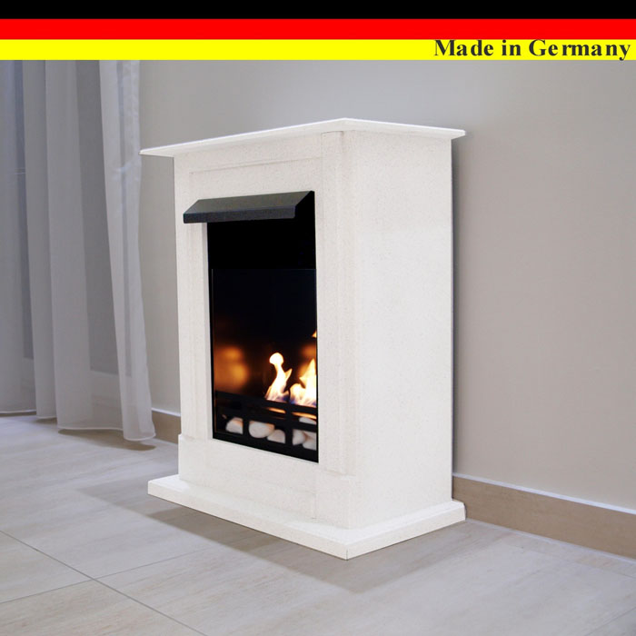 ethanolkamin gelkamin kamin fireplace cheminee caminetti madrid premium weiss ebay. Black Bedroom Furniture Sets. Home Design Ideas