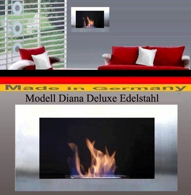 Gel y Etanol el Chimenea Modelo Diana Deluxe - Elige el Etanol color 15938c