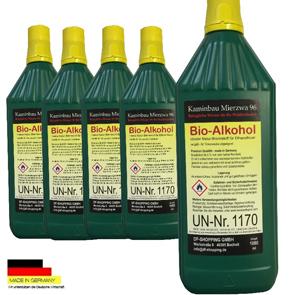 5 Liter Hochleistungs Bio Ethanol  Bio Alkohol für Ethanol- und Gelkamine