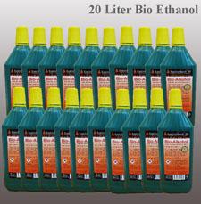 20 Liter Hochleistungs Bio-Ethanol