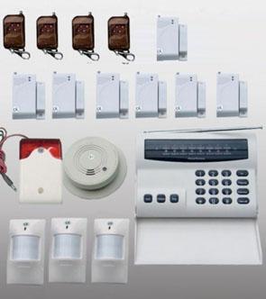 Funk-Alarmanlage Komplettsystem mit bis zu 16 Zonen