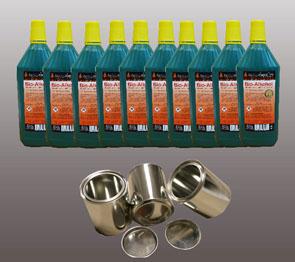 10 Liter Hochleistungs Bio-Ethanol & 3 Dosen 0,25 L