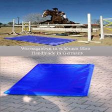 Wassergraben Sprung Hindernis Reithindernis 1x1 Meter
