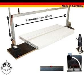 Styropor Schneidegerät 135 cm , Gr XL Thermo Säge, Styroporschneider WDVS H10303