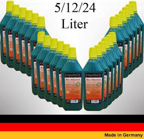Hochleistungs Bio Ethanol Bio Alkohol - Wählen Sie aus 5, 12, 24 Liter