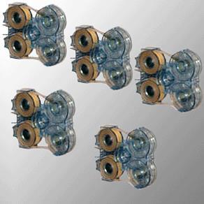 5 Ersatz-Kassetten ExtendMagic Haarverlängerungs-System