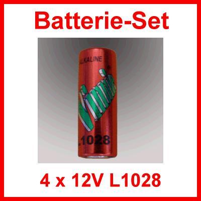 Batterieset 4 x 12V L1028 / Alarmanlagen Fernbedienung