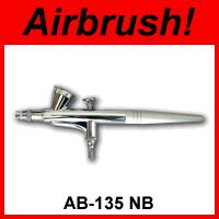 Airbrush-Pistole 135NB / Double-Action / 0,2mm-Düse / 1-3,4 Bar