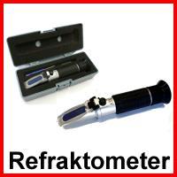 Imker-Refraktometer 58-90% brix ATC - Handrefraktometer Modell RHB-90 ATC / 6042