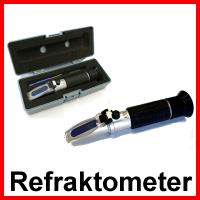 Refraktometer 0-32% brix mit ATC - Handrefraktometer Modell RHB-32ATC / 60425